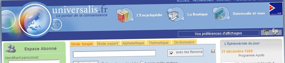 Encyclopædia Universalis .FR