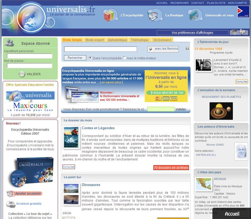 encyclopedie universalis linux